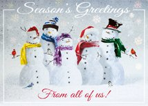 Snow Squad Holiday Cards